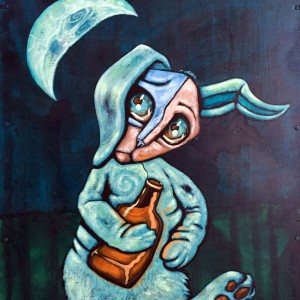 """Drunken Rabbit"":Sold"