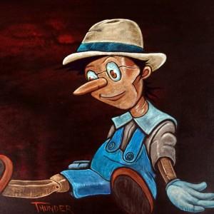 """A Wooden Boy"" :Sold"